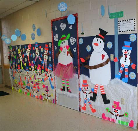 how to make school hall christmas classroom snowman door hallway decoration classroom crafts hallway decorations