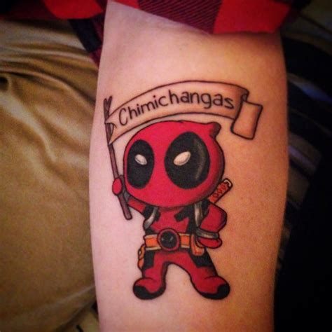 deadpool tattoo 24 deadpool tattoos on sleeve