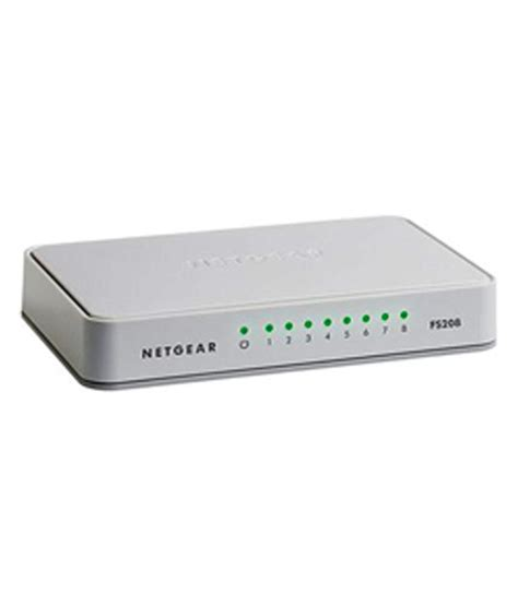 Netgear Fs208 netgear 8 port switch fs208 buy netgear 8 port switch