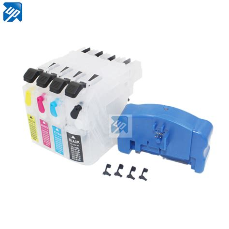 chip resetter brother druckerpatronen aliexpress com buy refillable ink cartridge chip