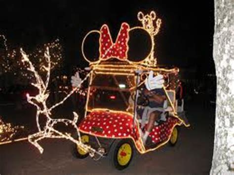 golf carts decerated for christnas how to decorate your golf cart with lights
