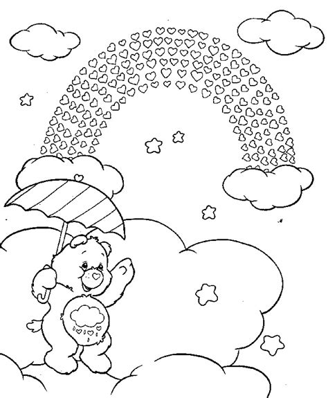 free care bear coloring pages 7 miseducated