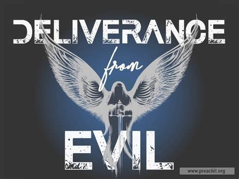 Outline 2 Chronicles 20 by Sermon By Topic Deliverance From Evil
