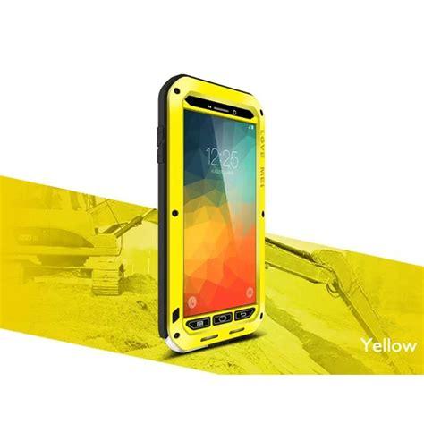 Mei Crossline Aluminium Metal Bumper Samsung Iphone 6 Plus Blac mei gorilla glass waterproof shockproof aluminum