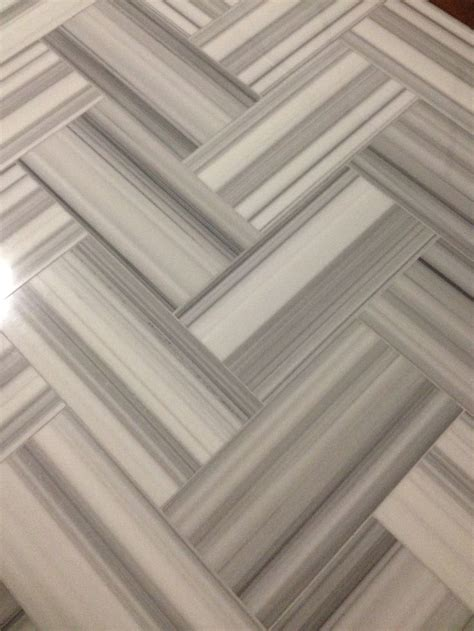 let s hear it for herringbone linac polished marble 12x24