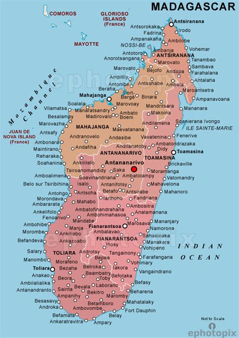 political map of madagascar madagascar political images frompo