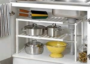 adjustable removeable sink storage kitchen rack