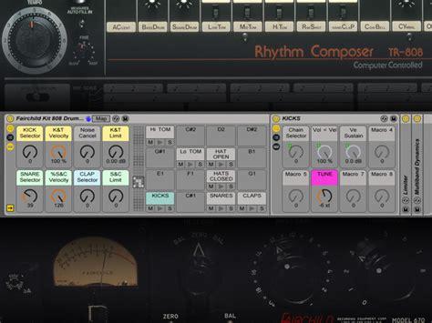Free Ableton Instrument Racks by Liveschool Free Ableton Live 808 Vermona Drm1 Volca