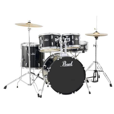 Drum Set pearl roadshow quot the 20 quot 5 drum set w hardware cymbals 20 quot bass 10 12 14 quot toms 14 quot snare