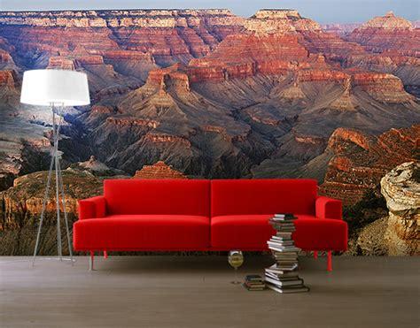photo wall mural grand canyon  sundown wallpaper wall