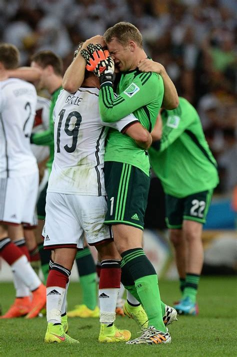 Matchcom Hires Manuel by Mario G 246 Tze And Manuel Neuer Hugging And After The