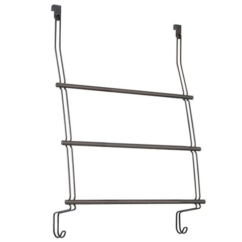 Shower Door Towel Rack Classico Shower Door 3 Towel Rack In Bronze 69111 The Home Depot