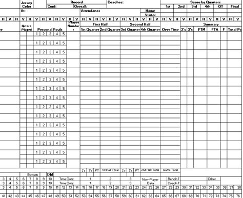 basketball report card template sport tournament template protime sports 3542 soccer ref