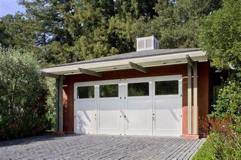 garage guest house woodside guest house contemporary garage san