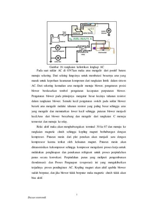 100 wiring diagram sistem kelistrikan ac bagi