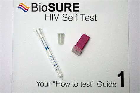 hiv self testing kit now on sale gives results in