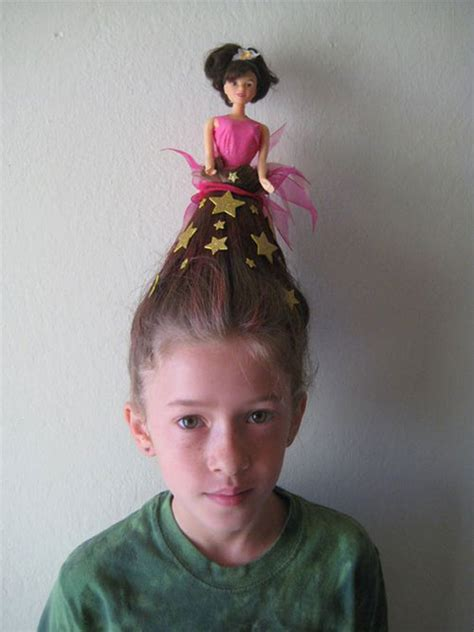 crazy funky scary halloween hairstyles  kids