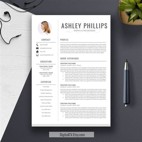 resume template cv template the ashley roberts resume 10 best best executive assistant resume templates
