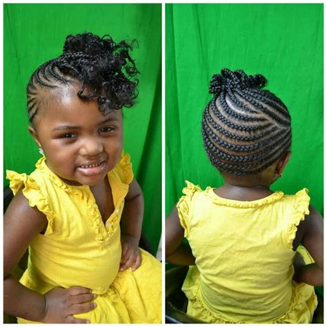 little girl hairstyles braided to the side 510 best images about natural kids cornrows on pinterest