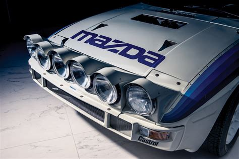 mazda group 1985 mazda rx 7 evo group b works racer