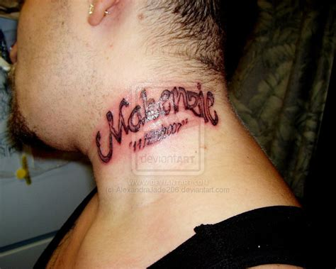 neck tattoo live neck name tattoo designs for girls tattoos