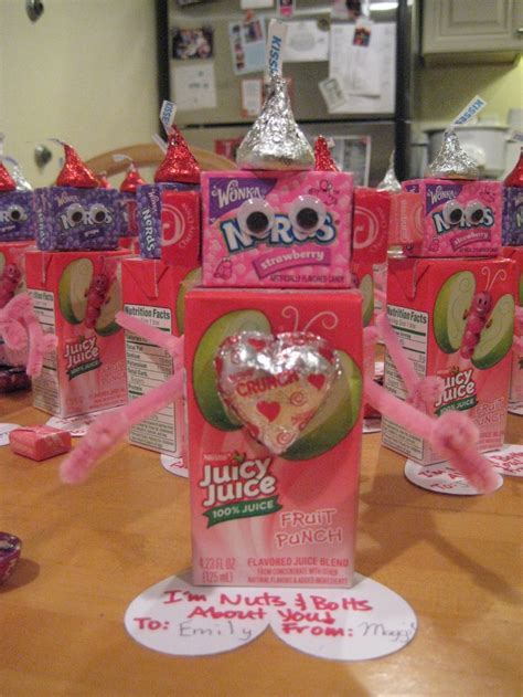 valentines day gifts for toddlers robots for maggie s class my finished projects