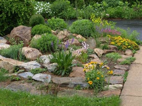 Rock Garden Design And Construction Landscaping And Outdoor Building Best Low Maintenance Landscaping Ideas Rock Garden Low