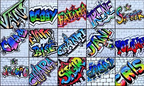 lettere stile graffiti nome in stile graffiti
