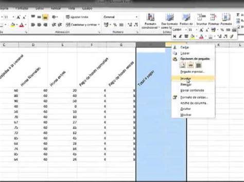 formato excel pago de planilla 4 excel 2010 planilla de pago youtube
