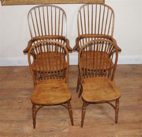 Oak Kitchen Chairs by 8 Oak Kitchen Dining Chairs Farmhouse Chair Ebay