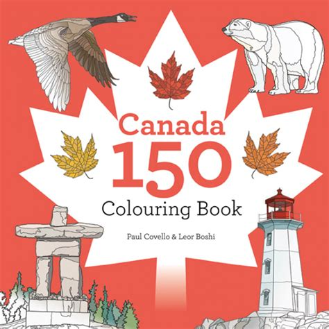 my picture book canada canada 150 colouring book paul covello
