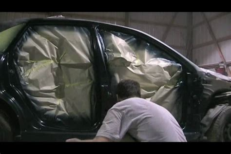 car painting free how to paint or quot trim out quot the doors of your car before