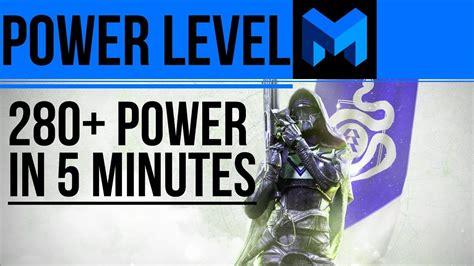destiny 2 light level guide 280 light level in 5 minutes destiny 2 alternate account