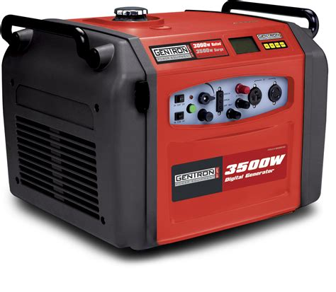 gentron inverter generator gg3501d 3500 watts electric