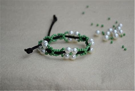 How To Make Handmade Bracelets With String - how to make bracelets with string and make