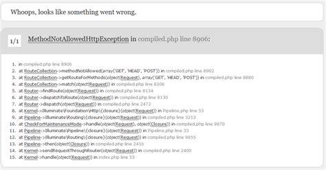 laravel exception tutorial 删除 iis angularjs 和 laravel methodnotallowedhttpexception 广瓜网