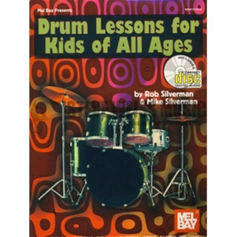 drum tutorial books silverman drum lessons for kids of all ages cd snare
