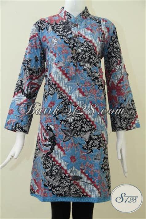 jual baju blus batik trend mode terkini pakaian batik formal wanita muda dan dewasa untuk kerja