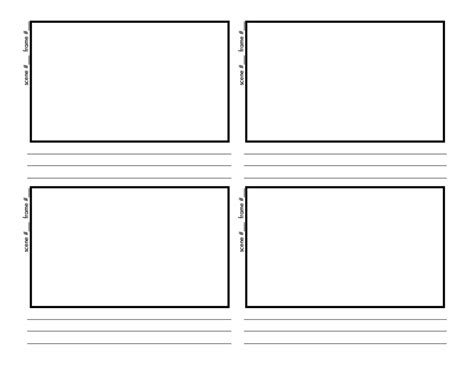 interactive storyboard template storyboards a up