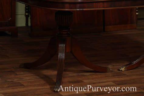 mahogany dining room regency table ebay