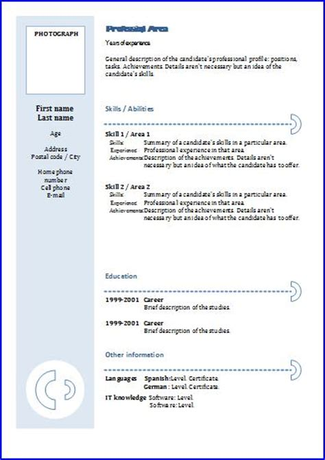 cv templates functional 3 resume templates