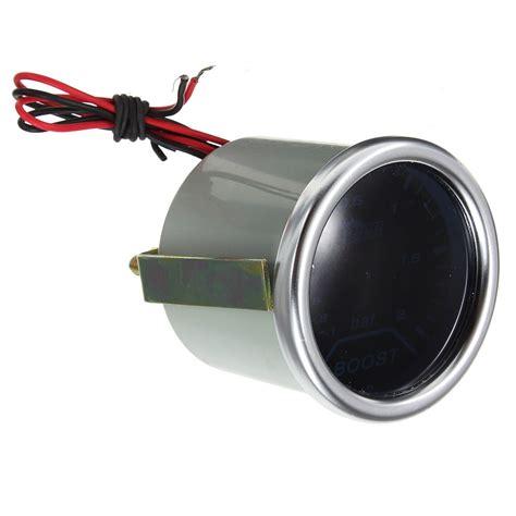 Led Len F R Auto by 12v 2 Inch Turbo Boost Car Led Gauge Meter Smoke Lens