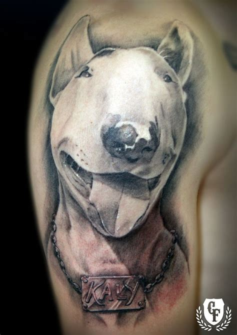 bull terrier tattoo the 12 coolest bull terrier designs in the