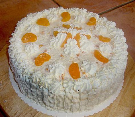 mandarinen sahne kuchen mandarinen sahne kuchen rezept rezepte zum kochen