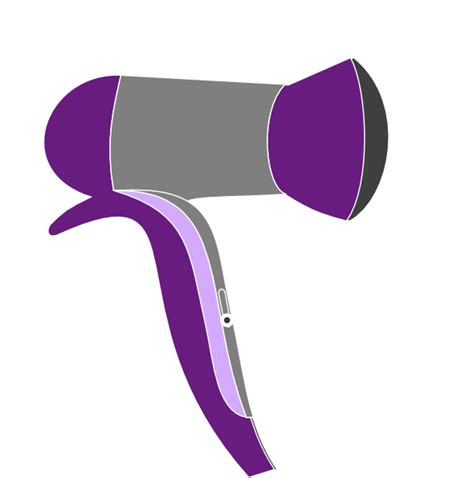 Hair Dryer Clipart Free purple rage dryer 2 clip at clker vector