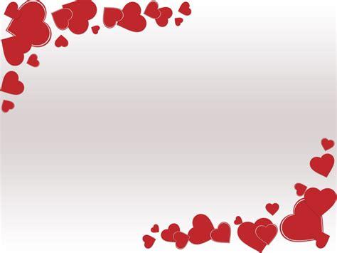 theme powerpoint valentine grunge valentine day ppt backgrounds love red white