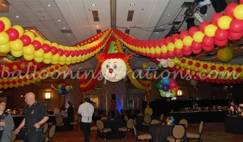 circus theme decor circus balloon decoration favors ideas