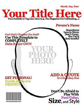 make your own magazine cover template make your own magazine cover