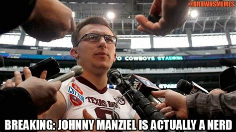 Johnny Manziel Memes - 10 best images about cleveland browns memes on pinterest