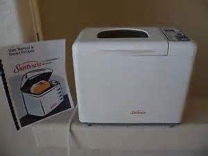 Sunbeam Bread Machine Manual 5833 Sunbeam Oster Automatic Breadmaker Bread Machine 4812 On